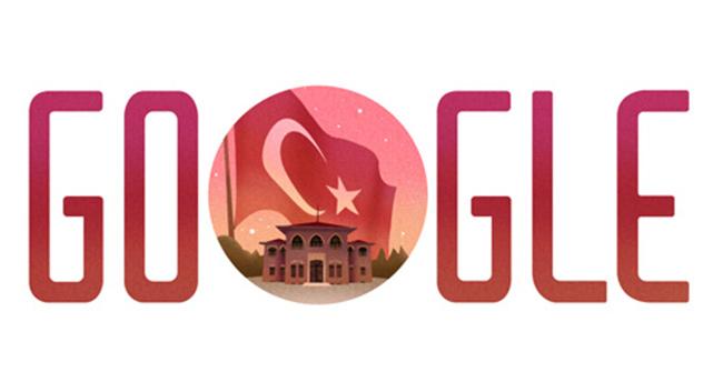 Cumhuriyetin 92. yılı için Google doodle hazırladı