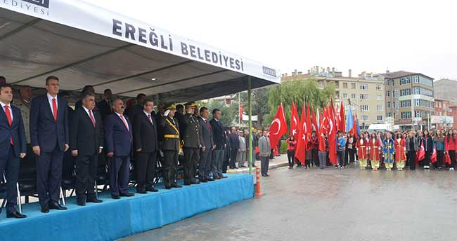 Ereğli'de Cumhuriyet Bayramı Kutlamaları