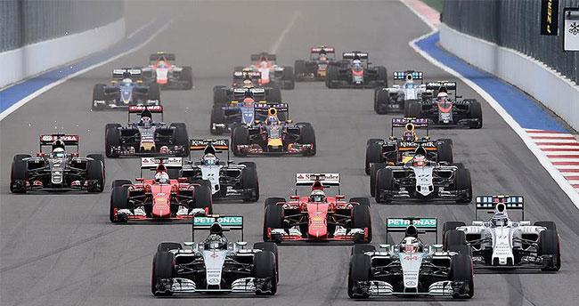 Formula 1'de heyecan Meksika'da sürecek