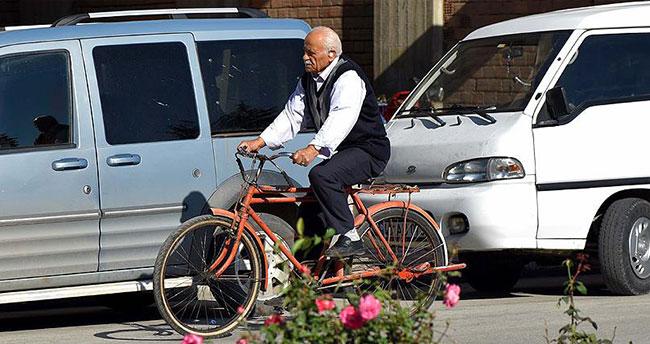 Turhallılar ulaşımlarını 'bisiklet' ile sağlıyor