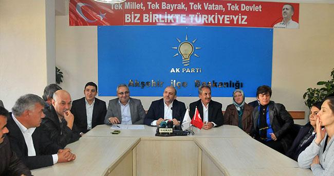 Ak Parti Akşehir Teşkilatı seçim sonuçlarını değerlendirdi