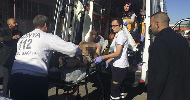Konya'da döküm kazanı patladı: 2 yaralı