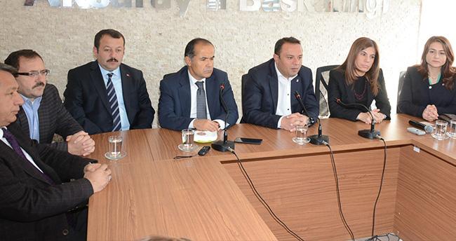 Aksaray AK Parti İlk Basın Toplantısını Yaptı