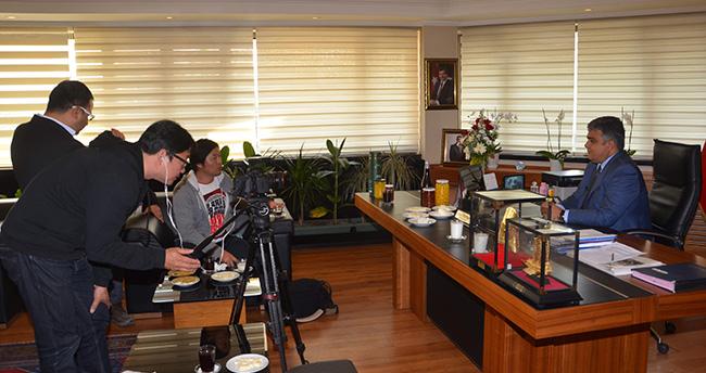 Güney Kore Devlet Televizyonu Ereğli'de