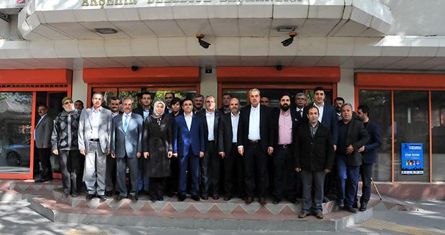 AK Partili Vekiller Akşehir'i Ziyaret Etti