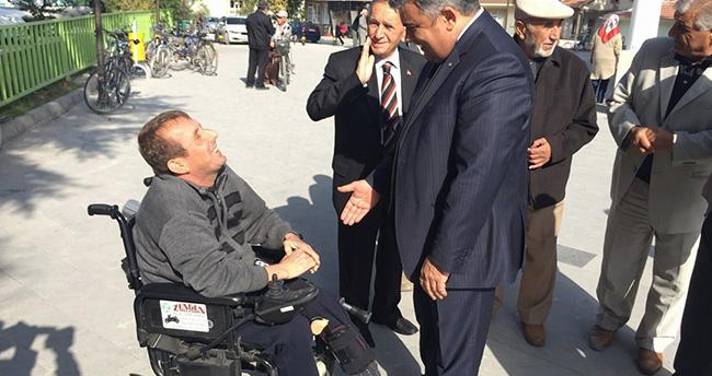 Başkan Özgüven'in Vatandaş Ziyaretleri