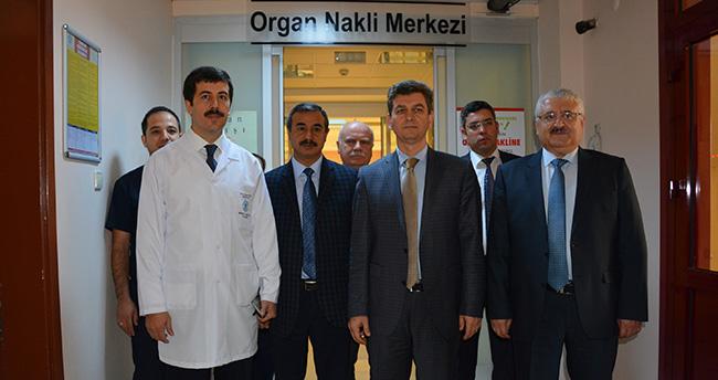 Konya İl Sağlık Müdürü Küçükkendirci, Organ Nakli Merkezini Ziyaret Etti
