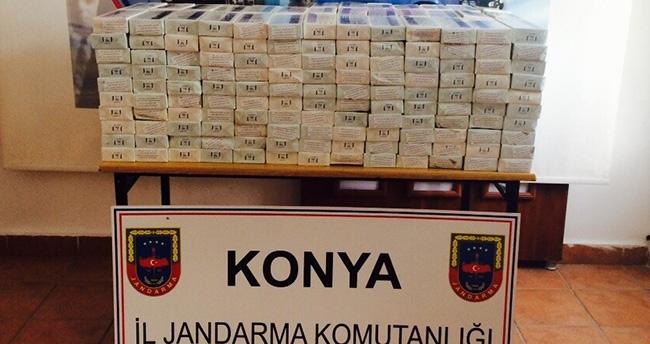 Kulu'da Jandarmadan Kaçak Sigara Operasyonu