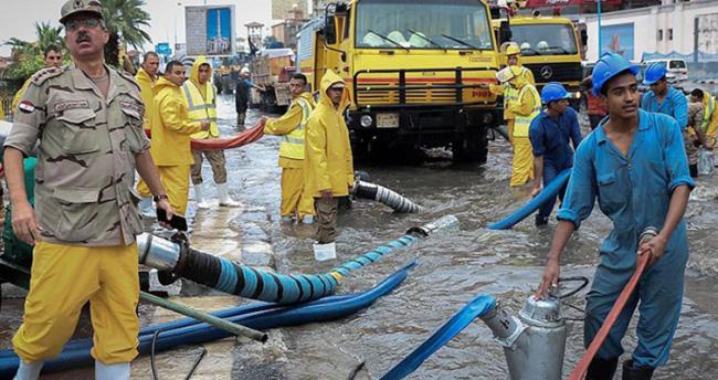 Ortadoğu'da şiddetli yağış ve fırtına