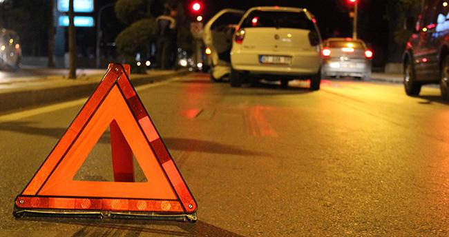 Konya'da zincirleme trafik kazası : 3 yaralı