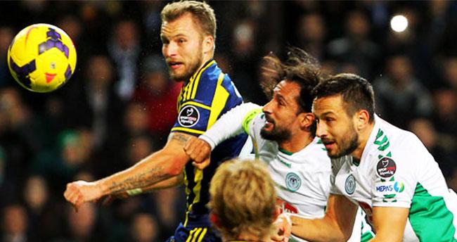 Fenerbahçe – Torku Konyaspor ilk 11'ler