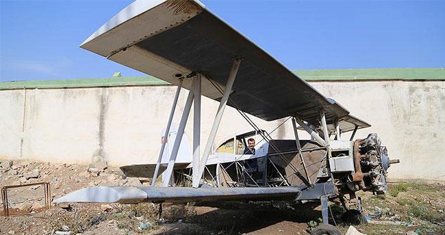 Reyhanlılı çiftçi uçaklarına müşteri bulamıyor
