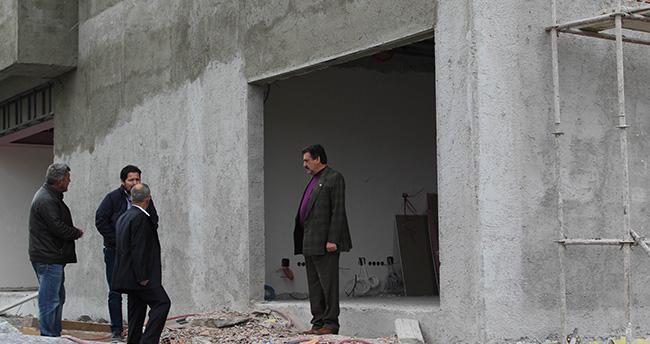 Cihanbeyli'de Beyler Konağı ve Kent Park'ın Yapımı Sürüyor