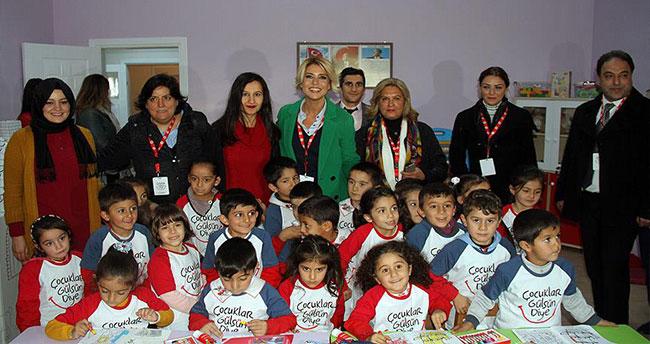 Çocuklar Gülsün Diye Derneği Doğubayazıt'ta anaokulu açtı