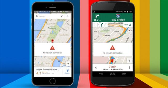 Google Maps İnternetsiz de Çalışıyor!