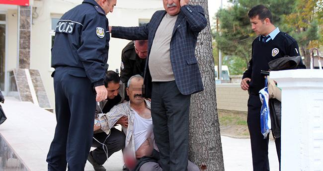Konya'da 'arazi kavgası' kanlı bitti : 2 yaralı