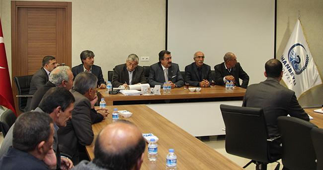 Cihanbeyli'de Tarım Komisyonu Toplandı