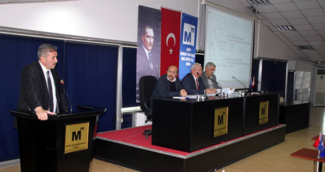 Konya SMMMO'da Danışma Meclisi Toplantısı Yapıldı