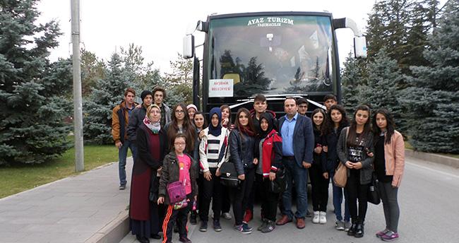 Seyyit Mahmut Hayrani Anadolu Lisesi Eskişehir'i Gezdi
