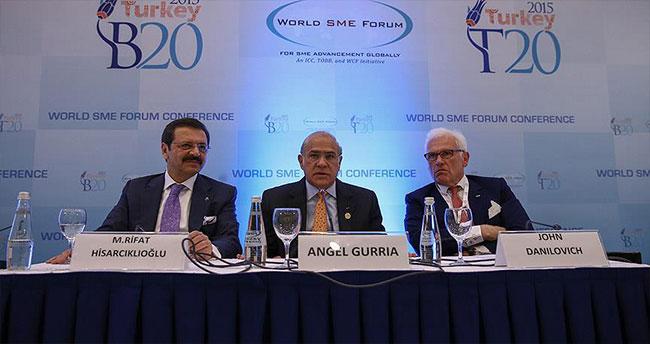 'G20 tarihinde bir ilk'
