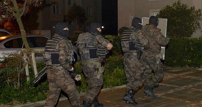İstanbul'da terör örgütü operasyonu: 6 gözaltı