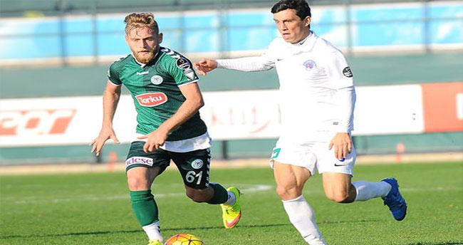 Torku Konyaspor hazırlık maçında berabere kaldı