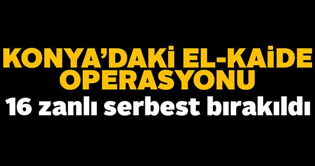 Konya'daki El-Kaide operasyonunda yeni gelişme