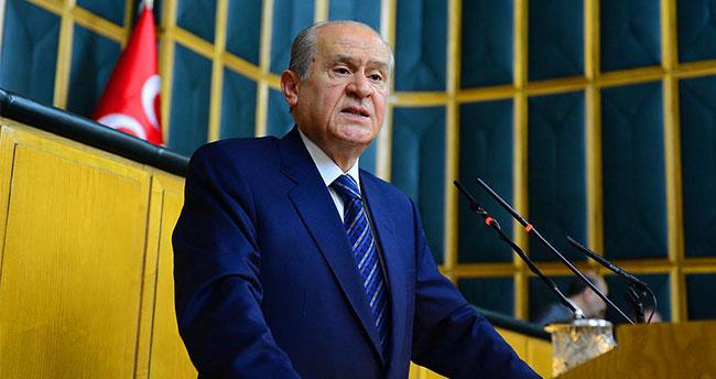MHP il başkanlarından Bahçeli'ye destek