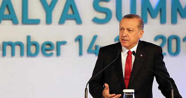 Erdoğan G-20 sonuç bildirgesini açıkladı