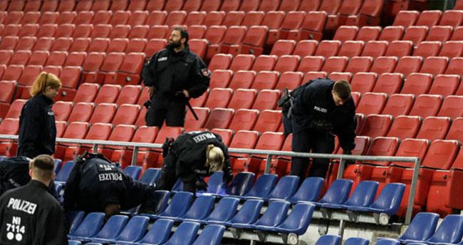Almanya – Hollanda maçı iptal edildi