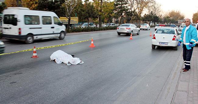 Konya'da otomobilin çarptığı yaşlı kadın öldü