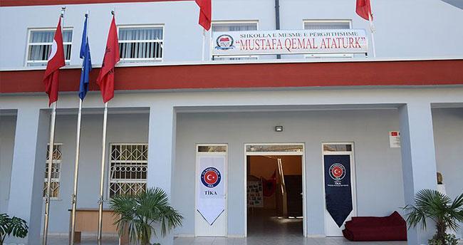TİKA'dan Arnavutluk'ta eğitime destek