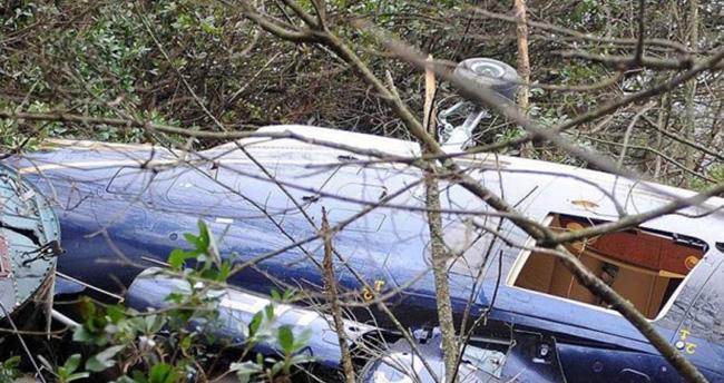 Nikaragua'da helikopter düştü