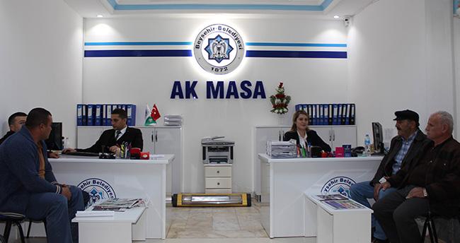 """Beyşehir'de Yeni Çözüm Merkezi: """"Ak Masa"""""""