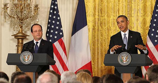 Obama ile Hollande DAEŞ'i konuştu