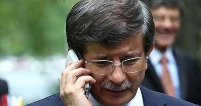 Başbakan'dan geçmiş olsun telefonu