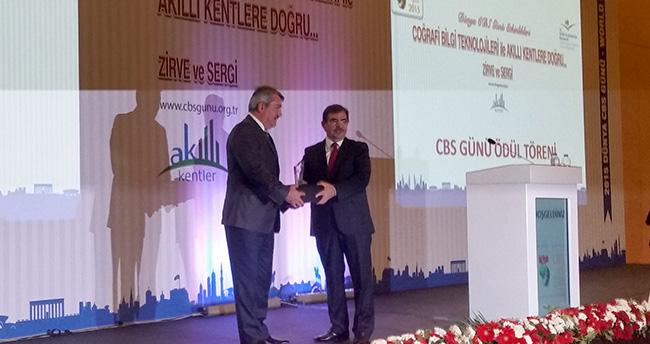 Çevre ve Şehircilik Bakanlığı'ndan Konya Kent Bilgi Sistemi'ne ödül!