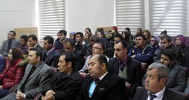 Konya'da Teog Bilgilendirme Toplantısı