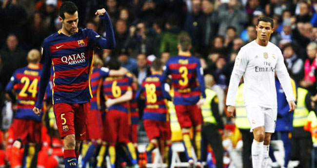 Real Madrid – Barcelona: 0-4