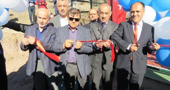 Beyşehir'de Çok Amaçlı Spor Sahası Açılışı