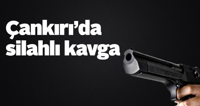 Çankırı'da silahlı kavga: 1 ölü
