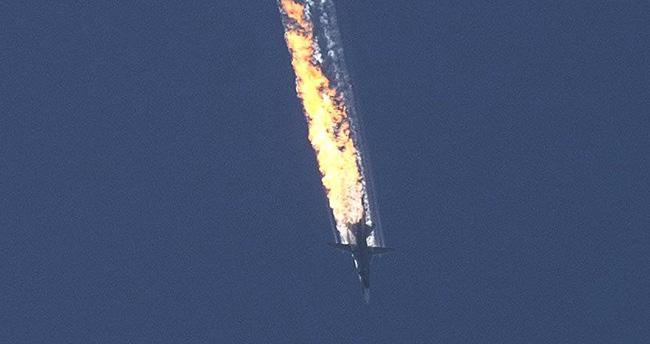 Türk hava sahasını ihlal eden Rus savaş uçağı düşürüldü
