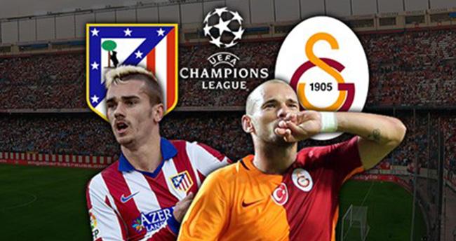 Atletico Madrid-Galatasaray maçı hangi kanalda, saat kaçta?
