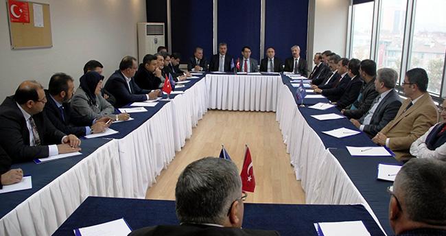Konya SMMMO ve Vergi Dairesi Başkanlığından İstişare Toplantısı
