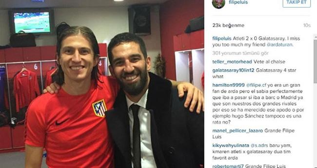 Atletico'dan Arda'ya büyük sevgi