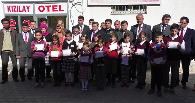 Beyşehir'de Yarışmalarda Dereceye Girenler Ödüllendirildi