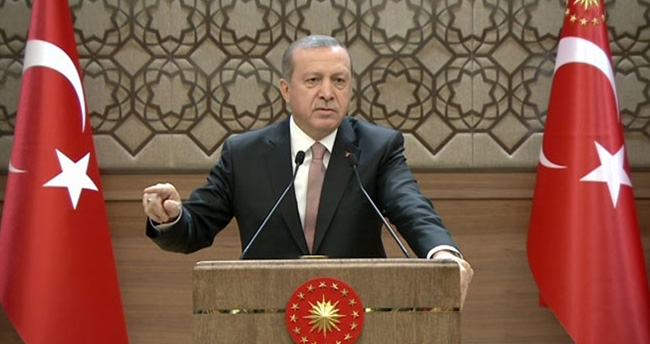 Erdoğan'dan Putin'e sert cevap