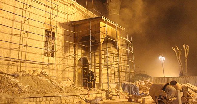 Konya Valiliği'nden Alaaddin Camisi ile ilgili Yangın Açıklaması