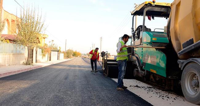 Meram'da asfalt ve altyapı çalışmaları sürüyor