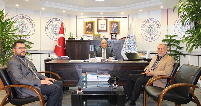 Beyşehir Müftüsü Erdoğan'dan Veda Ziyareti